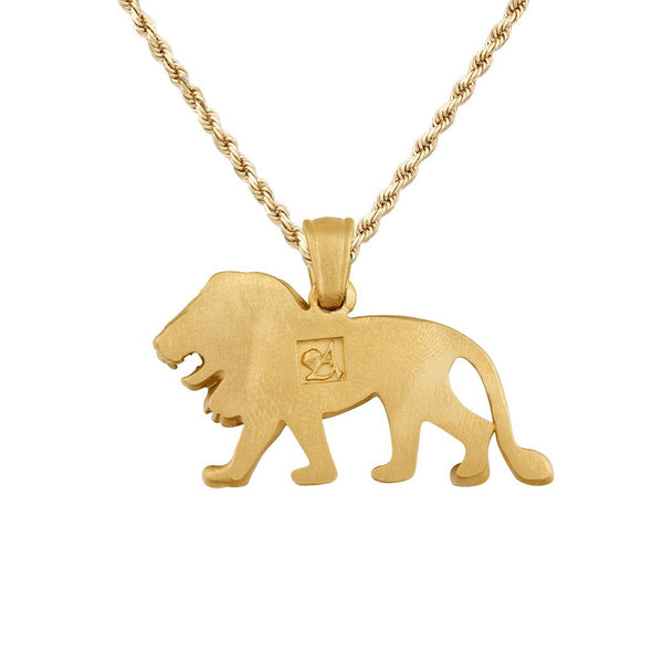 "Yellow 14k Yellow Gold ""Lion"" Pendant"