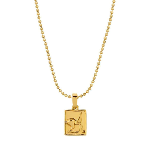 Yellow Avianne Pendant in 14k Yellow Gold