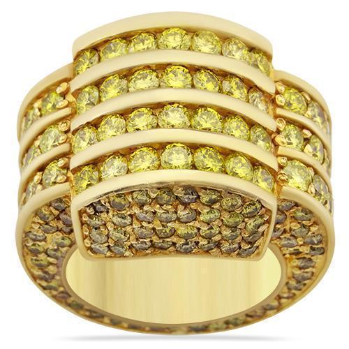 14k Solid Yellow Gold Mens Pinky Ring 9.5 Ctw