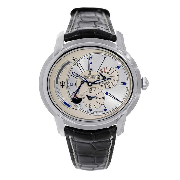Audemars Piguet Millenary Maserati 950 Platinum 47MM Watch 26150PT.OO.D028CR.01