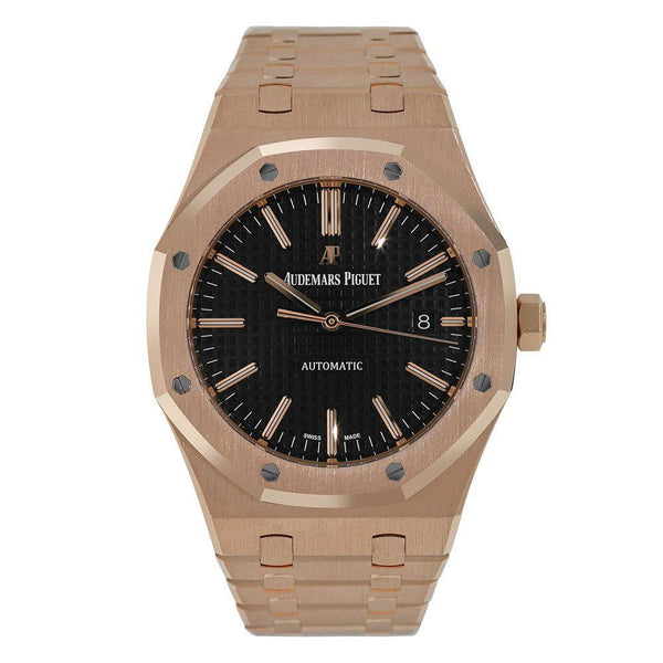 Audemars Piguet Royal Oak 41MM Black Rose Gold 15400OR.OO.1220OR.01