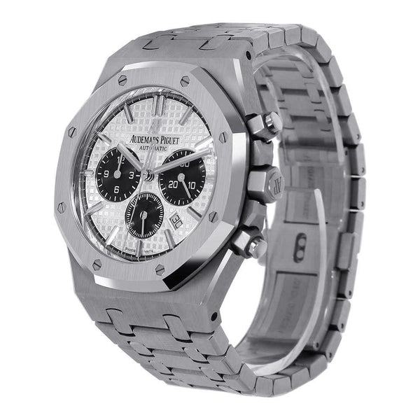 Audemars Piguet Royal Oak 41MM Black Steel Chronograph 26331ST.OO.1220ST.03