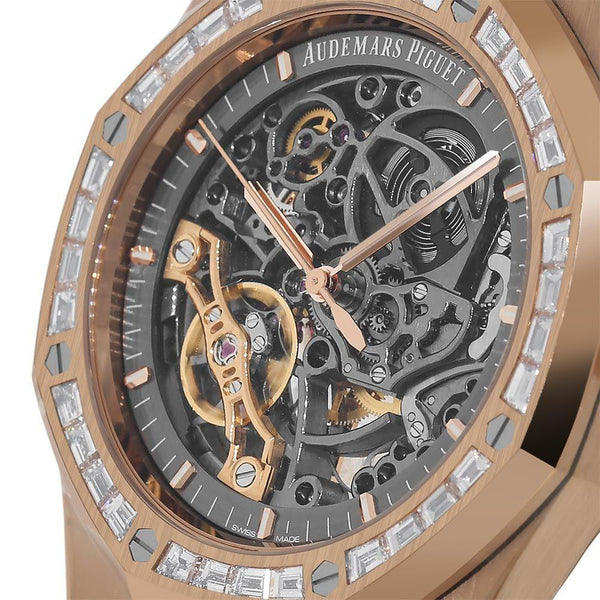 Audemars Piguet Royal Oak 41MM Rose Gold Watch 15412OR.ZZ.1220OR.01