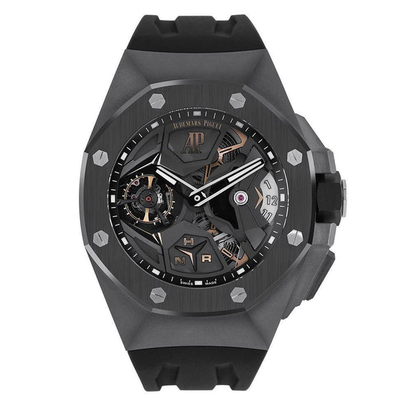 Audemars Piguet Royal Oak Concept Titanium Flying Tourbillon GMT 44MM Watch 26589IO.OO.D002CA.01