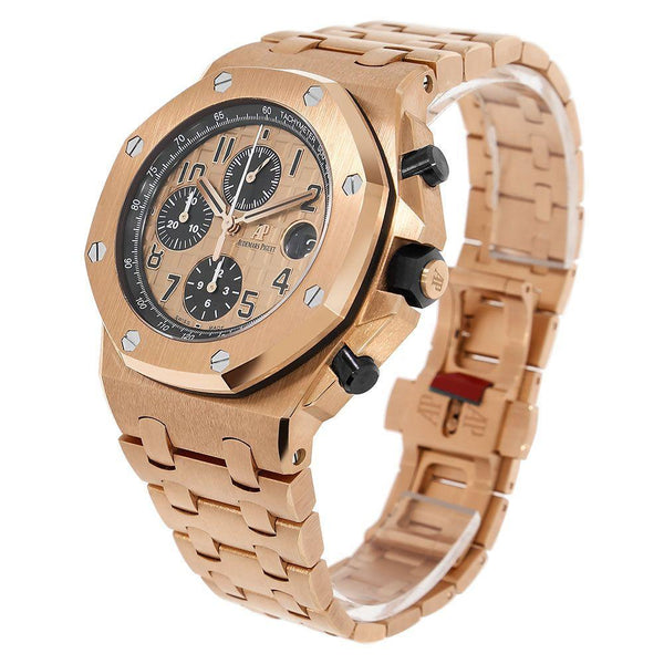 Audemars Piguet Royal Oak Offshore 42MM Gold Watch 26470OR.OO.1000OR.01
