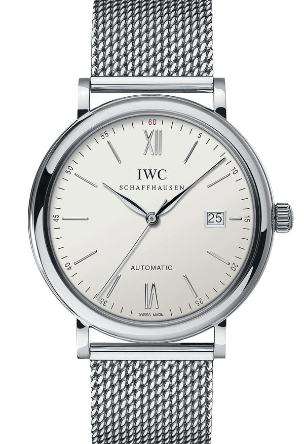 IWC Portofino Stainless-Steel Silver Dial Automatic 40MM watch IW356505