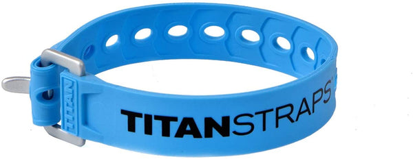 "Titan Utility Straps – 60 lb. Working Load, 14"" Length, Blue, 4-Pack"