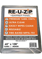 Ultra Clear Plastic+ Barrier Panel | Fire-Rated