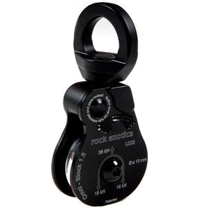 Rock Exotica P53-B Omni Block 2.0 Single Sheave Pulley