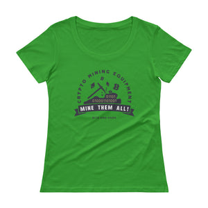Crypto Mining Equipment Women T-Shirt green