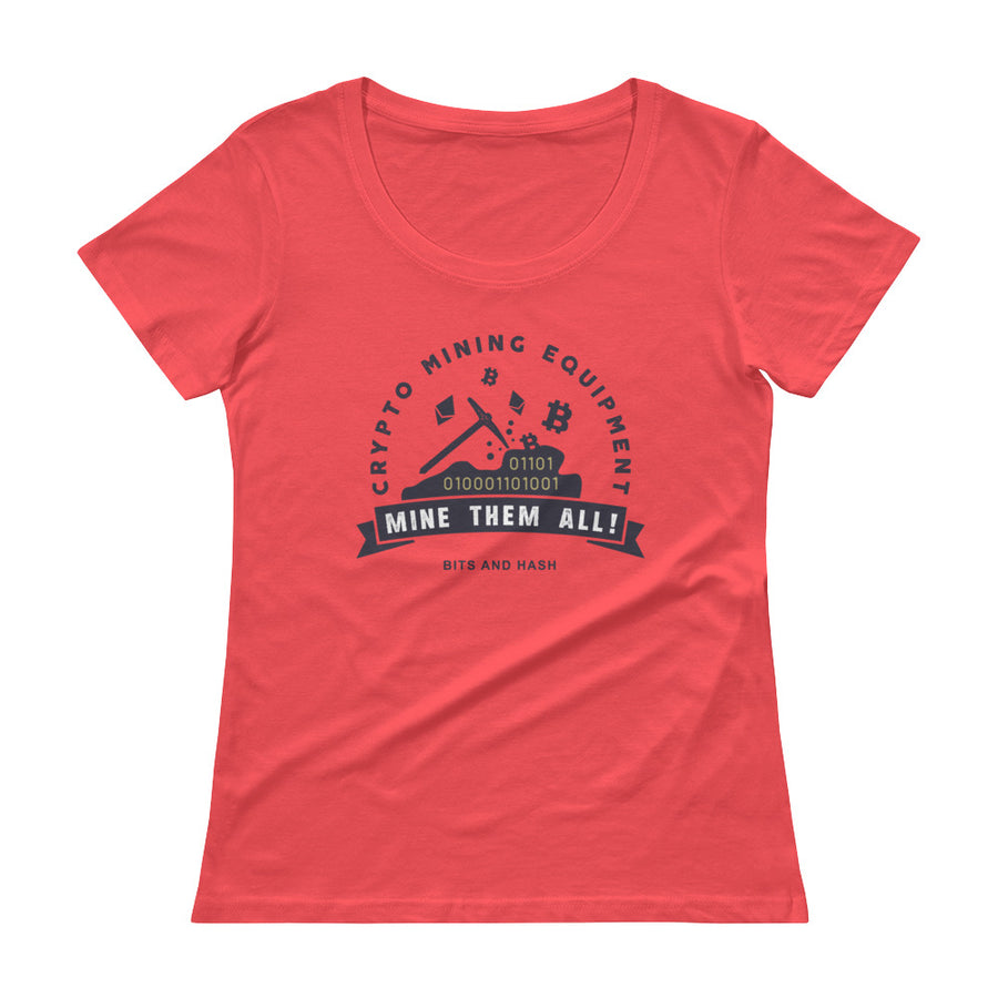 Crypto Mining Equipment Women T-Shirt red