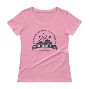 Crypto Mining Equipment Women T-Shirt pink