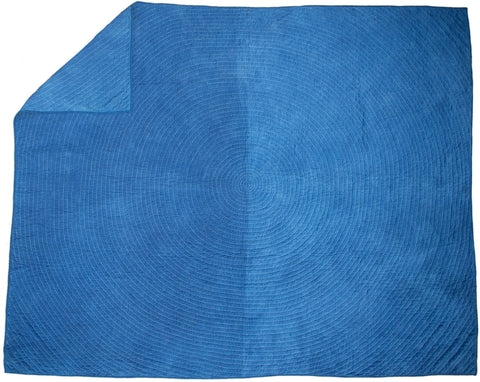 Ring Indigo Wholecloth: King Size