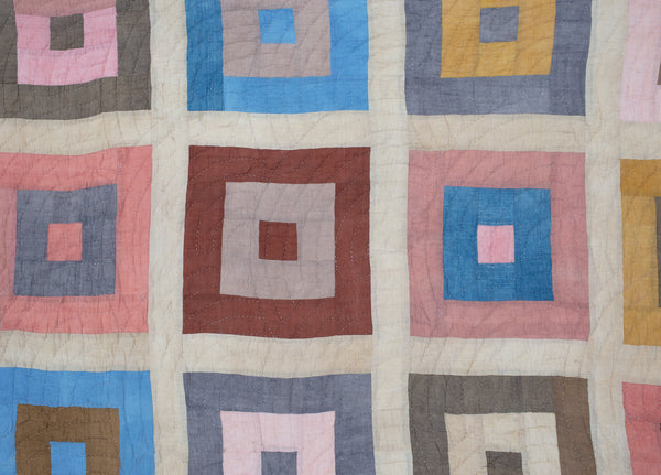 Spring Cabin Quilt