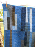 Denim Strip Quilt