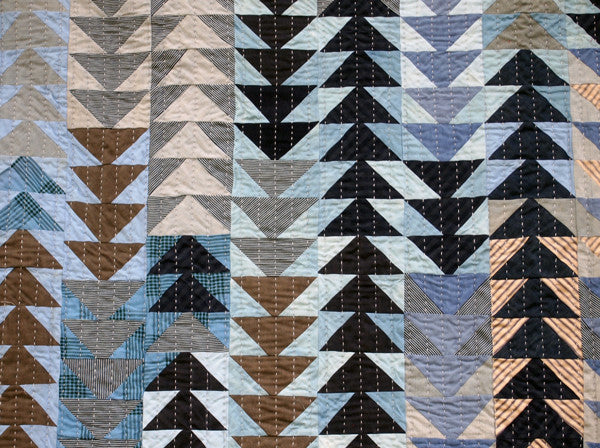 Flying Geese Quilt – Folk Fibers : flying geese quilting - Adamdwight.com