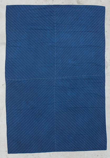 """X"" Indigo Wholecloth"