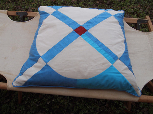 Cross Circle Pillow