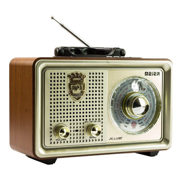 Radio Retro Portatil Bluetooth/FM/AUX/SD/USB /4431