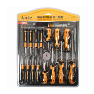 Set De Destornilladores 15 Pcs Ante / 900980