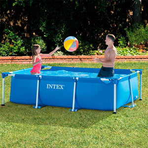 Piscina Rectangular Con Base Tubular De 2,2 x 1,5 x 0,60 m Intex / 28270NP