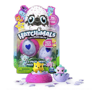 Set 2 Huevos Nido Hatchimals Colleggtibles Sorpresa Juguete / 60330