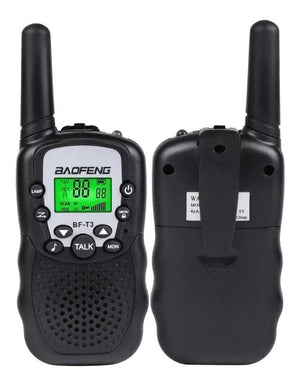 Pack 2 Radios Baofeng Bf-t3 Mini Walkie Talkie Cupoclick