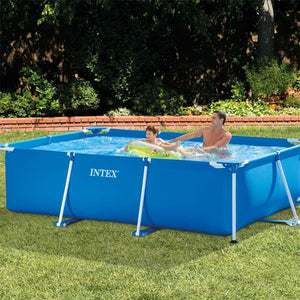 Piscina Rectangular Con Base Tubular De 3,0 x 2,0 x 0,66 m Intex / 28272NP