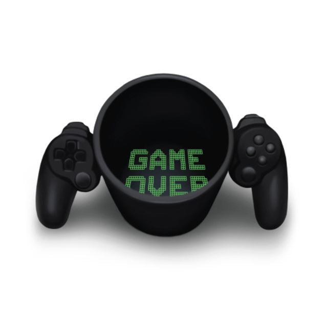 Taza Controlador Playstation GAME OVER