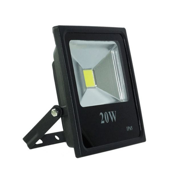 Foco Reflector 20W Led Exterior Slim