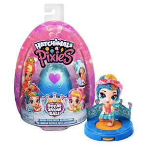 Huevo Hatchimals Hada Princesa Royal Snow Ball Pixies Juguete Sorpresa / 56253