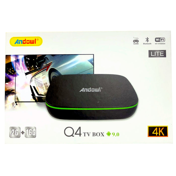 Android 9.0 Tv Box 4k Hd Smart Tv Wifi Andowl 16gb