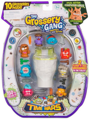 Set De 10 The Grossery Gang Coleccionable Series 5 / 69141