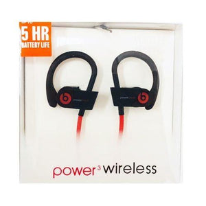 Audifonos Bluetooth Deportivos Power 3 Wireless Oem Cupoclick NEGRO/ROJO