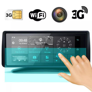Tablero Inteligente con Cámara De Retroceso Doble, Gps, 3g, Wifi y Bt / 68252
