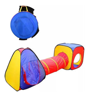 Carpa Tunel Niños Infantil Plegable Full Pop Up House/ 42703 Cupoclick