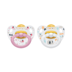 Chupetes NUK Happy Kids Latex (18-36 Meses) / NK10737025