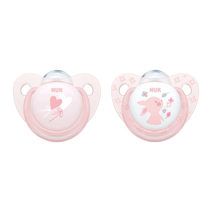 Chupetes NUK Rose Latex (0-6 Meses) / NK10725000