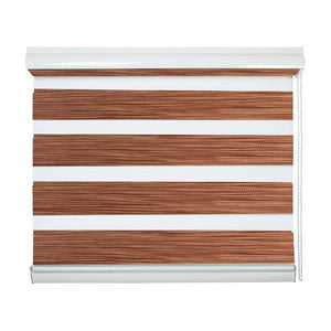 Cortinas Roller Duo Sun Out Color Madera 240 cm Alto Viewtex