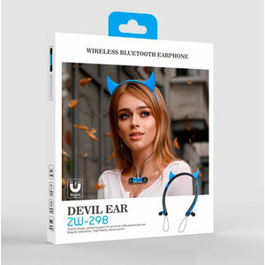 Audifonos Bluetooth Cosplay Devil Ear ZW-29K Cupoclick