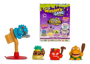 Set De 4 The Grossery Gang Coleccionable Series 5 / 69139