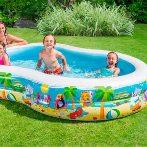 Piscina Inflable Intex 262x1.60x46 cm / 56490NP