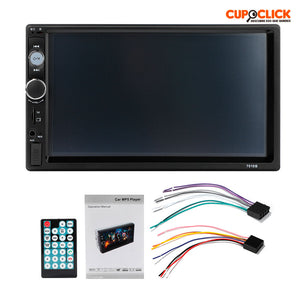 Radio Auto Mirror Link 2 Din Touch Bluetooth 7 Pulgadas
