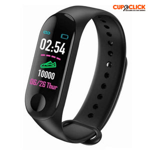 Reloj Inteligente Smart Band M3 Bluetooth Deporte Monitor Cardiaco
