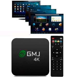 Smart Tv GMJ 4K HD con Control Remoto y Wifi