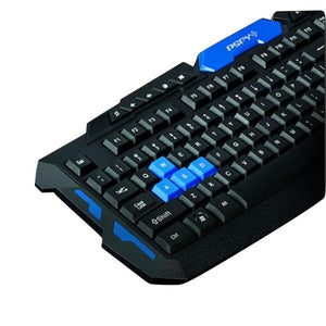 Kit Teclado Mouse Gamer Inalámbrico Hk8100 Cupoclick