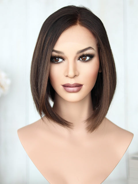 "10-11"" Rachel Lace Top Wig (M) Ultra Lightweight)"