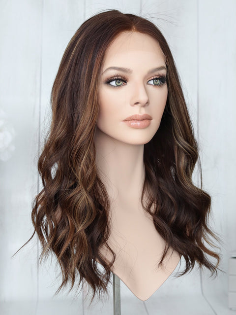 "23"" Aria Lace Top Wig (LARGE)"
