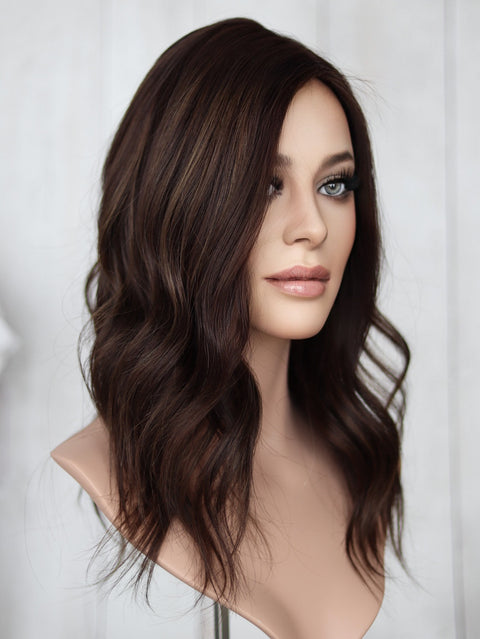 "15"" Jennifer Lace Top  Wig"