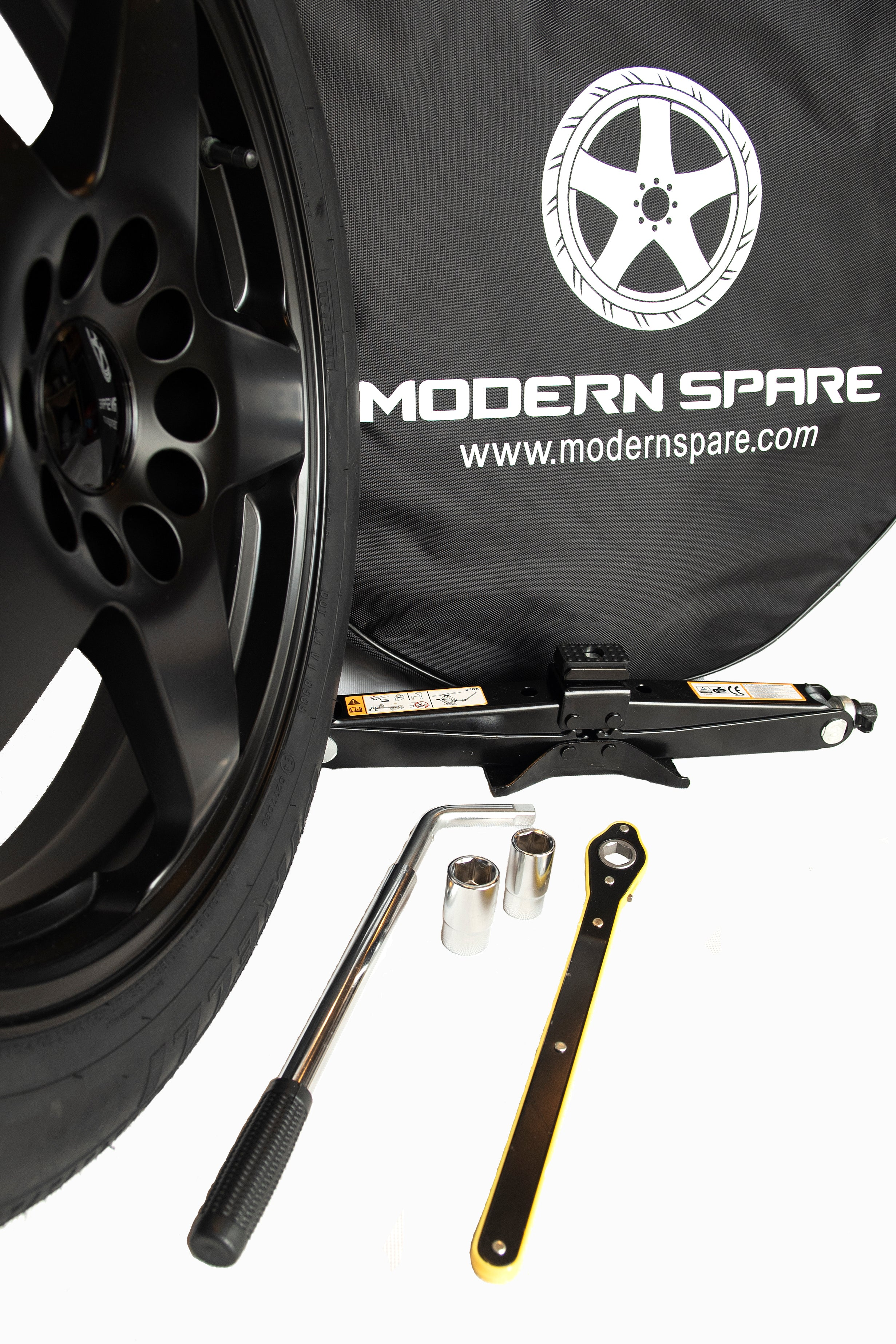 Modern Spare Tesla Model S Spare Tire Kit